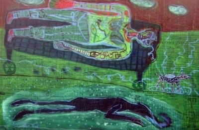 """carol heft """"connections"""": the inside of outsider art"""